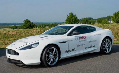 Гибридный Aston Martin DB9 от Bosch Engineering