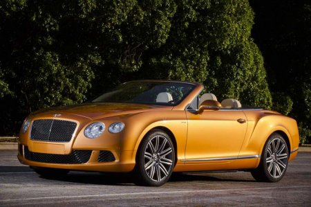 Bentley Continental GT Speed Convertible – самый быстрый кабриолет в мире