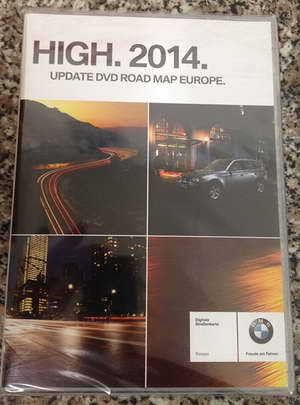 ��������� NAVTEQ BMW Road Map Europe HIGH 2014 RUS SL + Speedcam