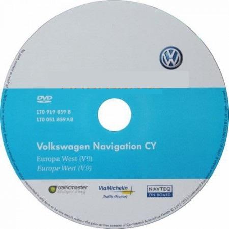 ������� ��������� Volkswagen Skoda � ������� ��������� ������ ���.9 ��� RNS-510