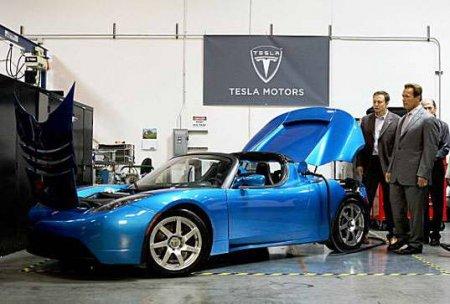 � Tesla Motors �������� �������� � ������������� ������ �����
