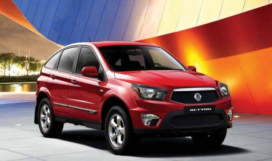 обзор SsangYong Actyon фото