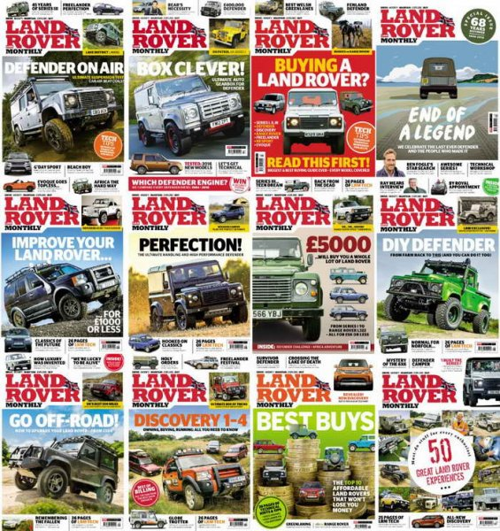 Download Land Rover Monthly 2016